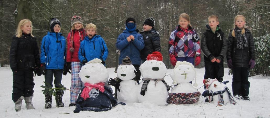 Coole sneeuwpoppen!